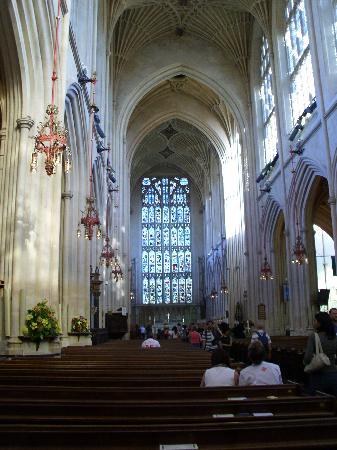 Bath Abbey interior