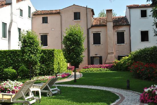 HOTEL OLIMPIA Venice: jardin