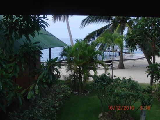 Haad Tian Beach Resort Koh Phangan: vorderer Teil des Resorts