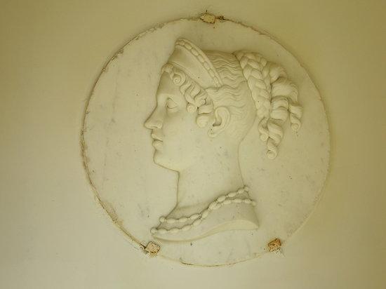 Médaillon de Joséphine de Beauharnais manoir de boisairault