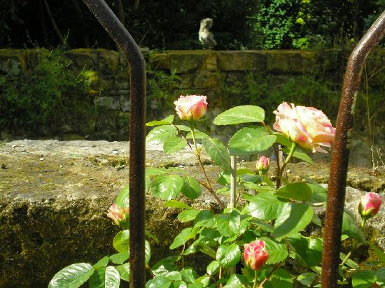 Manoir de Boisairault: jardin des roses