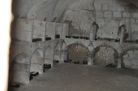 Manoir de Boisairault: les caves