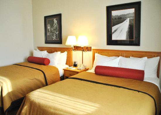 Best Western Golden Spike Inn & Suites: Cozy Beds