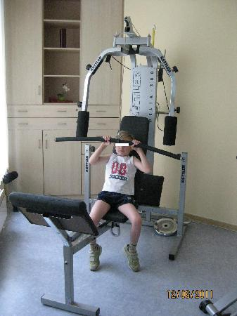 Ferienhotel Woerthersee: Fitness-Raum