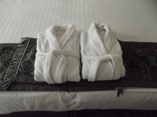 โรงแรมอามิร่า อิสตันบูล: Morbidi e profumati accappatoi