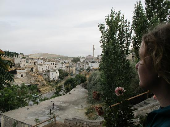 Aravan Evi Boutique Hotel: View from the terrace over Ayvali