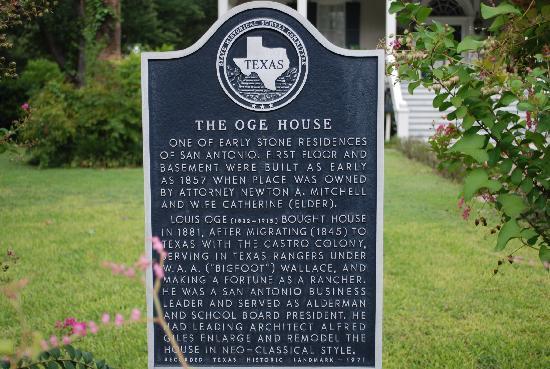 Noble Inns - The Oge House, Inn on the Riverwalk: Historical Site
