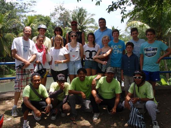 Banyan Tree Bike Tours: Our happy tour group and guides