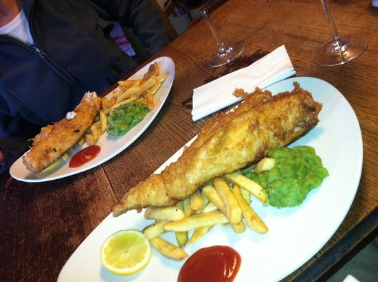 Ye Olde Six Bells: Fish & Chips