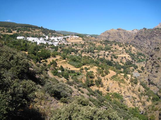 Sierra y Mar: View of Ferreirola from a Hike