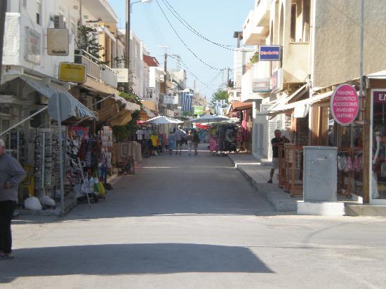 Cleopatra Superior Hotel: street