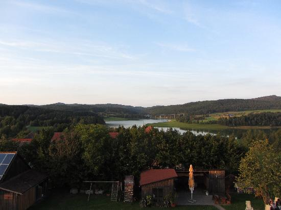 Panorama-Hotel am See: View from the balcony