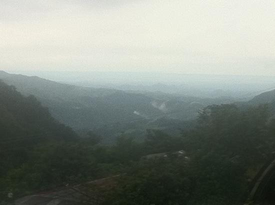 Costa Rica Backpackers: view from the lookout spot