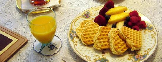 Amelia Payson House: breakfast for lovers