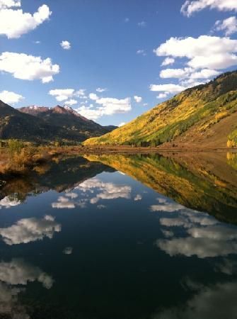 Silverton, CO: fall colors on million dollar hwy