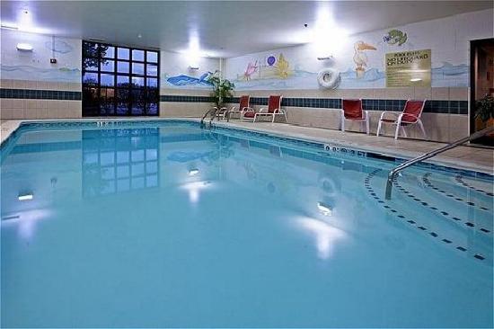 هوليداي إن اكسبرس آند سويتس ميلفورد: Indoor heated pool