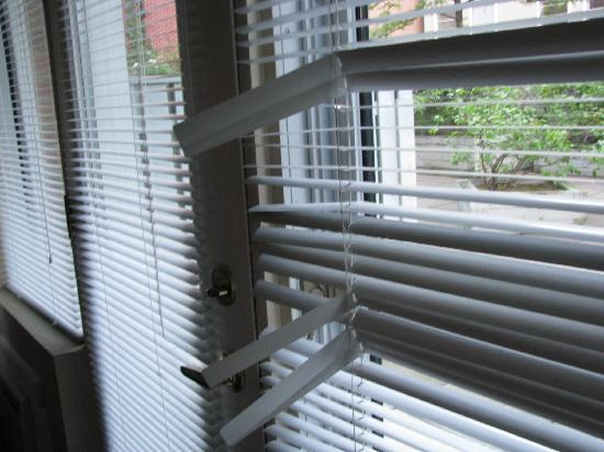 ByWard Blue Inn: Peek a boo blinds for total privacy-NOT!