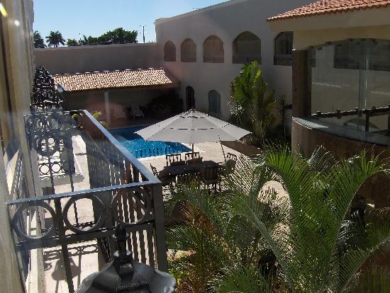 Hotel Dubrovnik: terraza