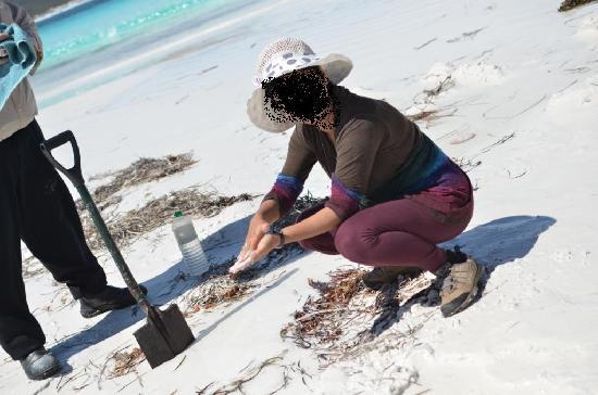 Esperance, Avustralya: jewel polish at lucky bay