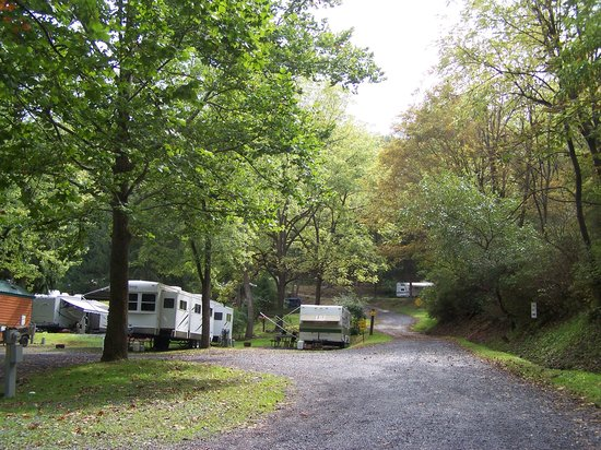 Allentown KOA Campground: Our view