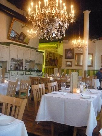 Mother's Bistro & Bar: The dining room