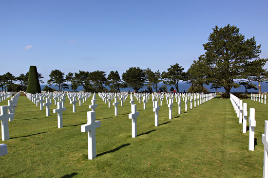 Normandy American Cemetery en Memorial