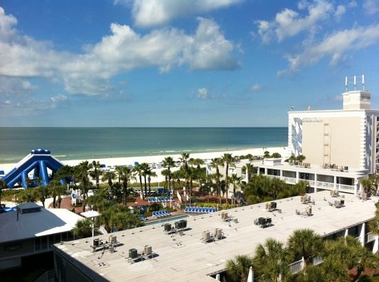 TradeWinds Island Grand Resort: View from the balcony