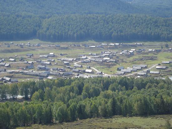 Kanas Lake Tuwa Village: The steppe