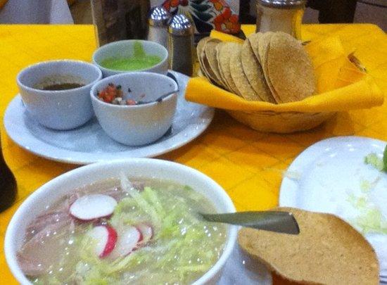 La Chata de Guadalajara : pozolito
