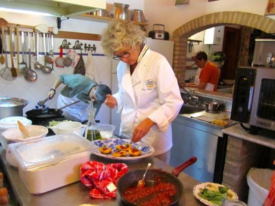 Anna Tasca Lanza Sicilian Cooking School: Fabrizia Lanza
