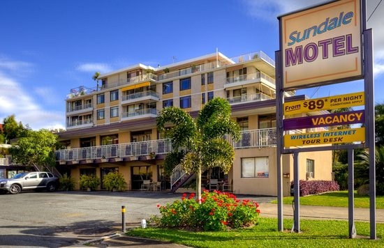 ซันเดล โมเต็ล: Your Southport Motel choice is the Sundale Motel