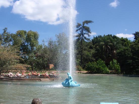Zoologico Guadalajara: Fountain at the entrance
