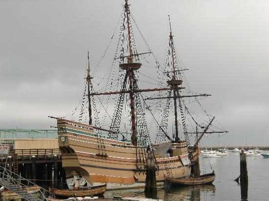 Mayflower II: The Ship, rebuilt to the original blueprints