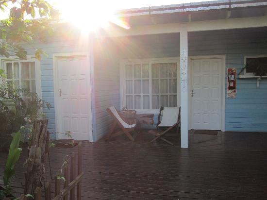 Secret Garden Iguazu B&B: Outside our room