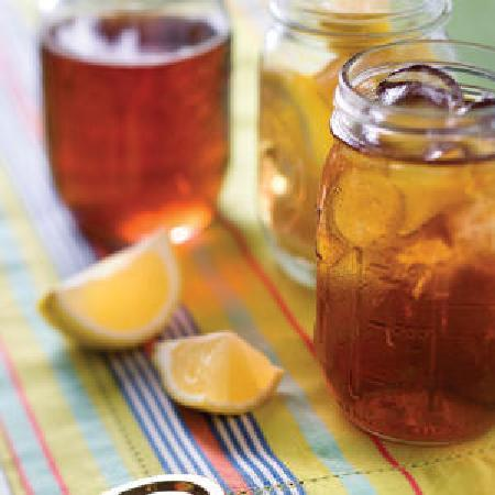 The Mason Jar Restaurant: Best Tea in town!!