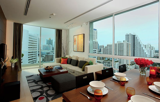 Shama Sukhumvit Bangkok : Panoramic views of Bangkok's skyline