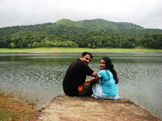 KTDC Lake Palace Thekkady : in the gate of the hotel