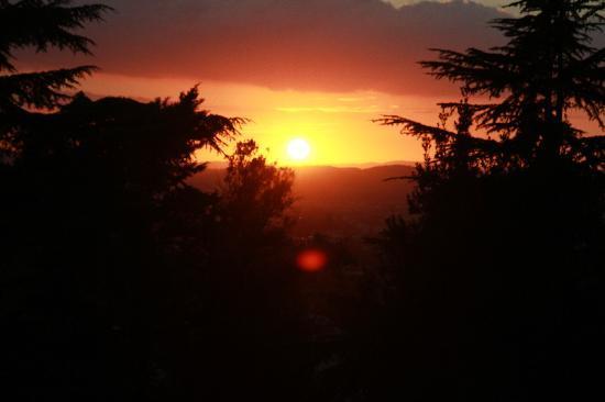 Villa Rossi-Mattei: amazing sunsets