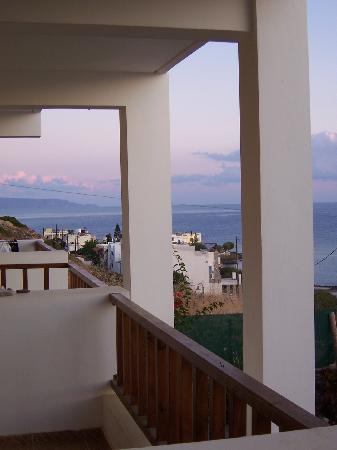 Bellavista Rooms: vista dal balcone