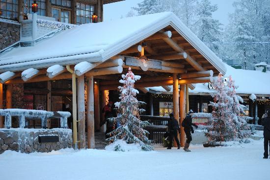 Svanstein Lodge: village de rovaniemi