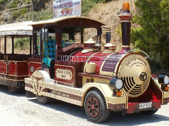 Elounda, Greece: Happy Train - July 2011
