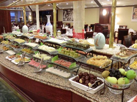 Barcelo Eresin Topkapi: Frühstücksbuffet