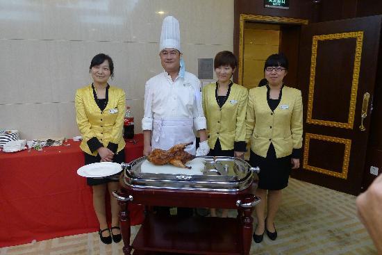 Shenzhen Hotel: personnel du restaurant