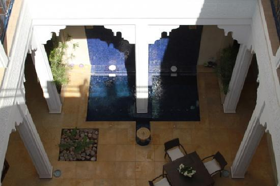 Riad Charlott': Patio