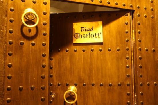 Riad Charlott': Entrée