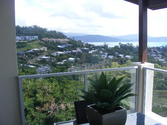 Whitsunday Reflections: our view to the left