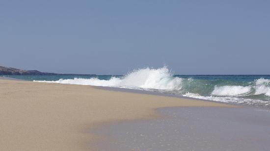 Playa de Cofete: Wellen bei Cofete