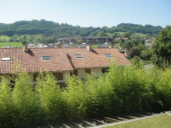 Hotel Jaizkibel: vista desde la ventana de la habitación