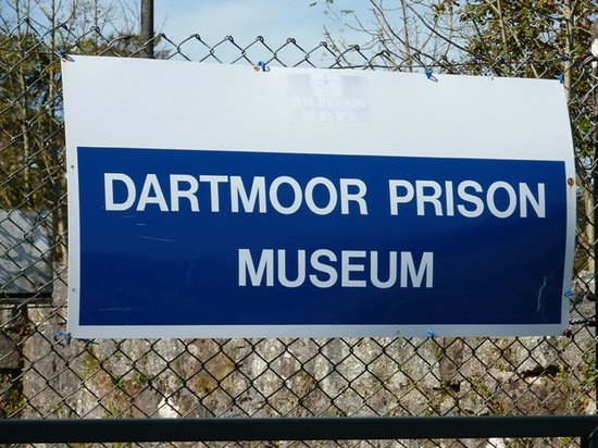 Princetown, UK: Sign for the museum