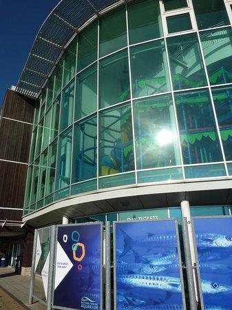 National Marine Aquarium : Entrance